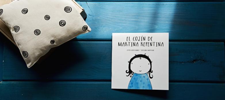 ¿QUIERES UN EJEMPLAR DE EL COJÍN DE MARTINA REPENTINA GRATIS?