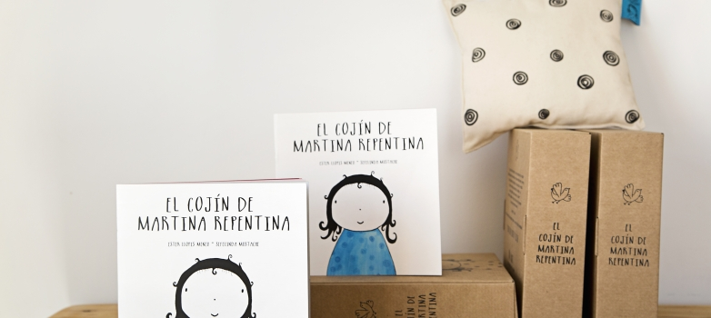 "NUEVA EDICIÓN DEL PACK DE ""EL COJÍN DE MARTINA REPENTINA"""